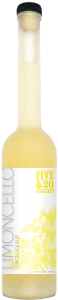 A bottle of our Limoncello Liqueur