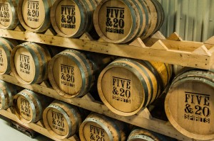 Five & 20 Spirits Whiskey Barrels