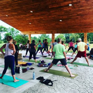 Patio Yoga @ Mazza Chautauqua Cellars / Five & 20 Spirits & Brewing | Westfield | New York | United States